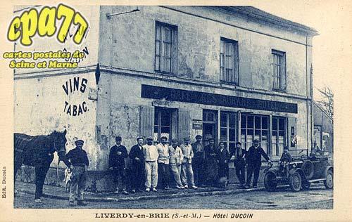 Liverdy En Brie - Hôtel Ducoin