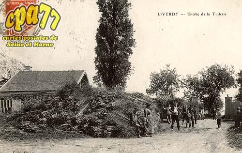 Liverdy En Brie - Entrée de la Tuilerie