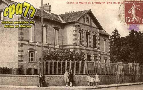 Liverdy En Brie - Ecoles et Mairie de Liverdy-en-Brie (S.-et-M.)