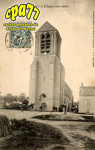 Lizines - L'Eglise (XIIIe siècle)