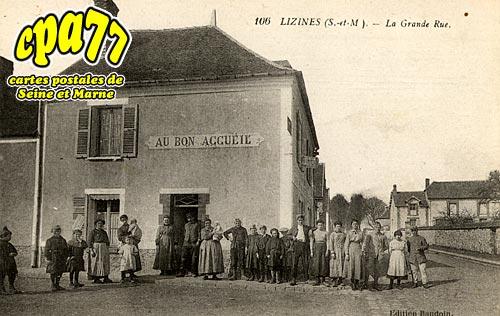 Lizines - La grande Rue
