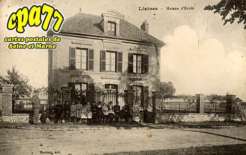 Lizines - Maison d'Ecole