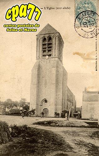 Lizines - L'Eglise XIIIe siècle