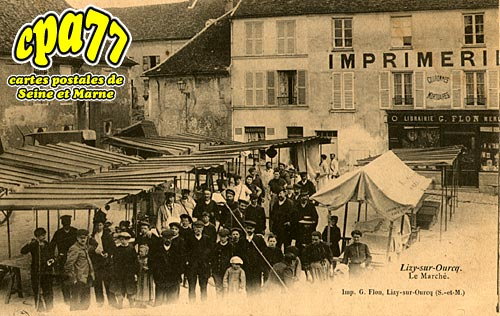 Lizy Sur Ourcq - Le Marché