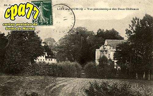 Lizy Sur Ourcq - Vue panoramique des Deux Châteaux