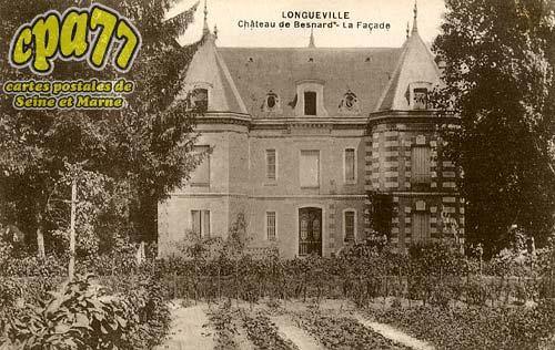 Longueville - Château de Besnard - La Façade