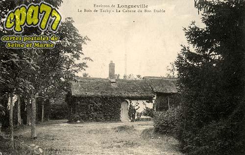 Longueville - Environs de Longueville - Le Bois de Tachy - La Cabane du Bon Diable