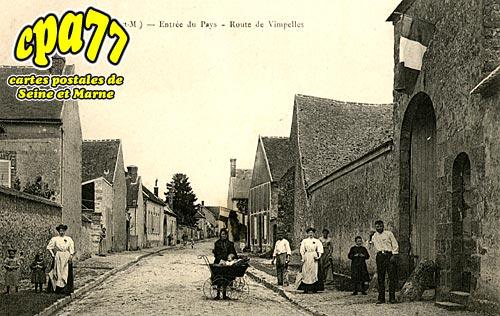 Luisetaines - Entrée du Pays - Route de Vimpelles