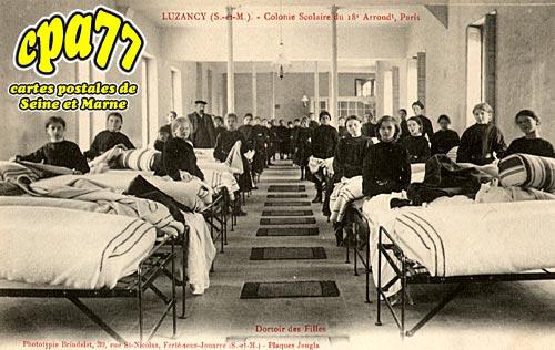 Luzancy - Colonie scolaire du 18e Arrond. De Paris - Dortoir des Filles