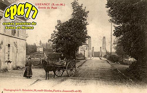 Luzancy - Entrée du Pont