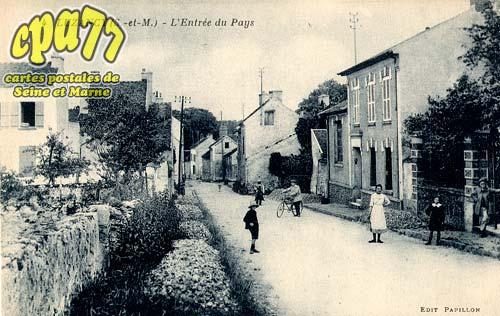 Luzancy - L'Entrée du Pays