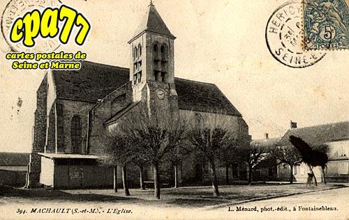 Machault - L'Eglise