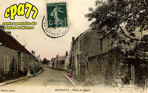 Machault - Route de Nangis