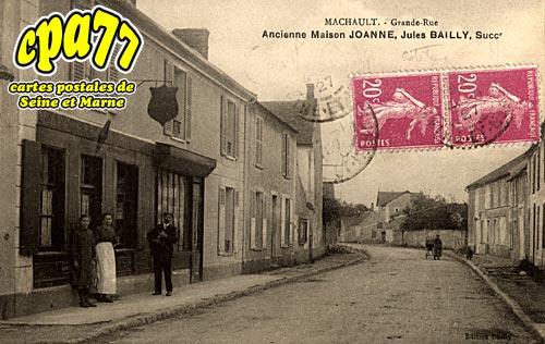 Machault - Ancienne Maison JOANNE, Jules Bailly, Succ.