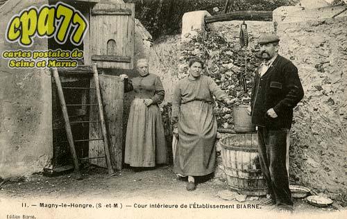 Magny Le Hongre - Cour Intérieure de l'Etablissement Biarne