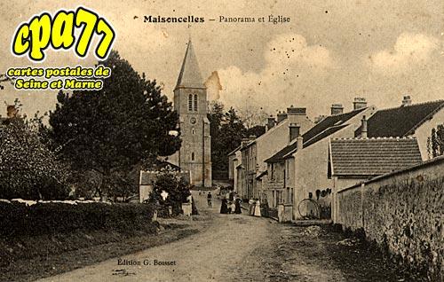 Maisoncelles En Brie - Panorama et Eglise