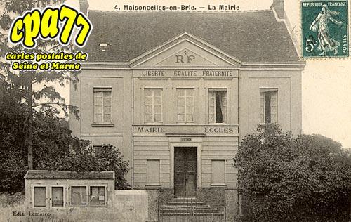 Maisoncelles En Brie - La Mairie