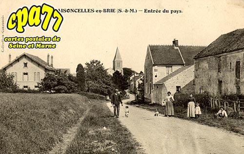 Maisoncelles En Brie - Entrée du pays