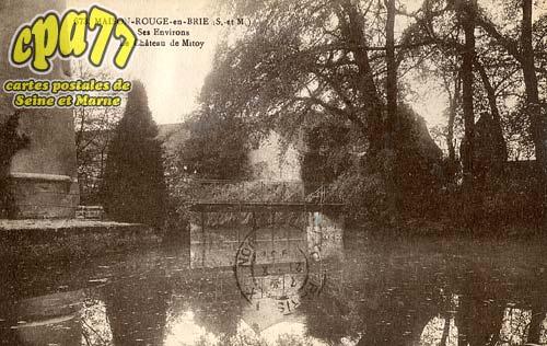 Maison Rouge En Brie - Ses Environs - le Château de Mitoy