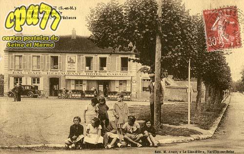 Marolles Sur Seine - Hôtel du Lion-d'Or - Route de Noslong et des Pêcheurs