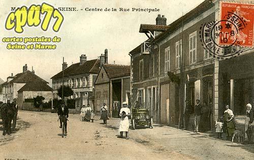 Marolles Sur Seine - Centre de la Rue Principale