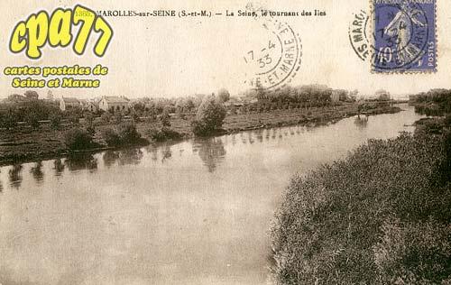 Marolles Sur Seine - La Seine, le tournant des Iles