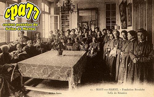 Mary Sur Marne - Fondation Borniche - Salle de réunion