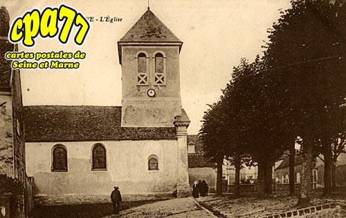 Mary Sur Marne - L'Eglise