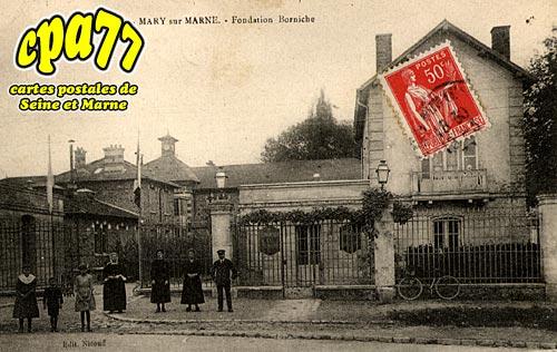Mary Sur Marne - Fondation Borniche