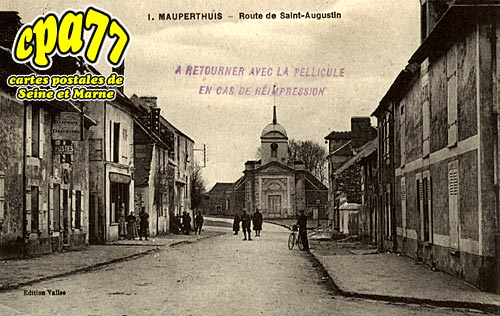 Mauperthuis - Route de Saint-Augustin