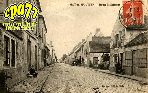 May En Multien - Route de Soissons