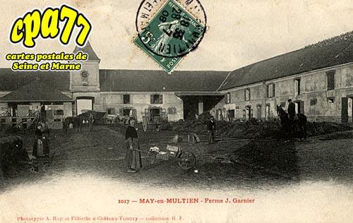May En Multien - Ferme J.Garnier