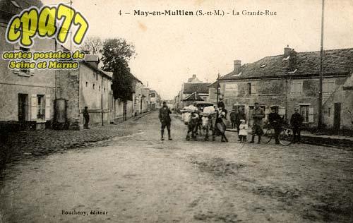 May En Multien - La Grande Rue