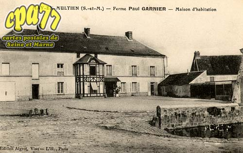 May En Multien - Ferme Paul Garnier - Maison d'habitation