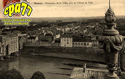 Meaux - Panorama de la Ville, pris de l'Hôtel de Ville