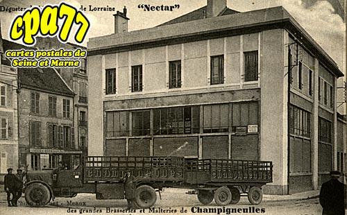 Meaux - Grandes Brasseries et Malteries de Champigneulles