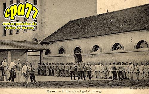Meaux - 4e Hussards - Appel du pansage
