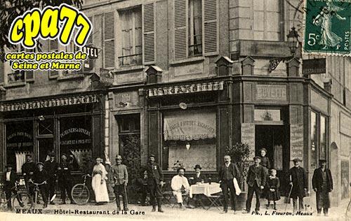 Meaux - Hôtel-Restaurant de la Gare