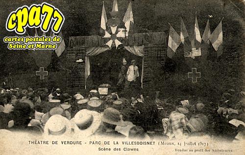 Meaux - Théâtre de verdure - Parc de la Villesboisnet (Meaux, 14 juillet 1917) - Scènes de Clowns