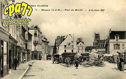 Meaux - Place du Marché