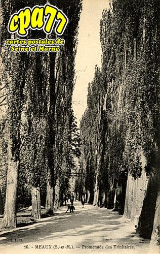 Meaux - Promenade des Trinitaires