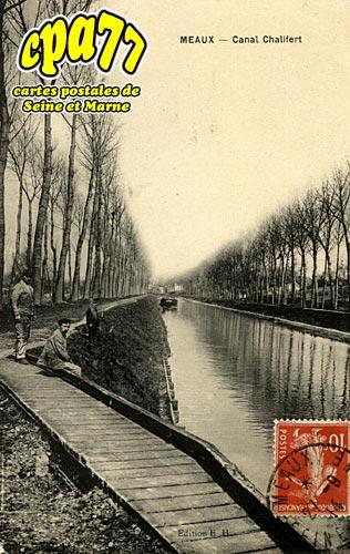 Meaux - Canal Chalifert