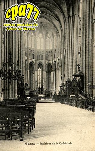 Meaux - Intérieur de la Cathédrale