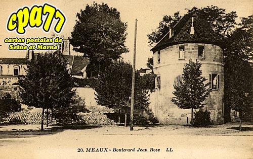 Meaux - Boulevard Jean Rose