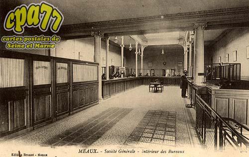 Meaux - Société Générale - Intérieur des Bureaux