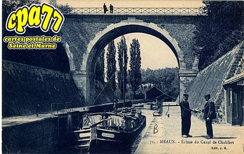 Meaux - Ecluse du canal de Chalifert