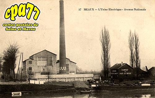 Meaux - L'Usine Electrique - Avenue Nationale