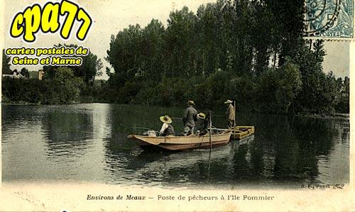 Meaux - Poste de Pêcheurs à l'Ile Pommier