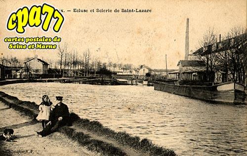 Meaux - Ecluse et Scierie de Saint-Lazare