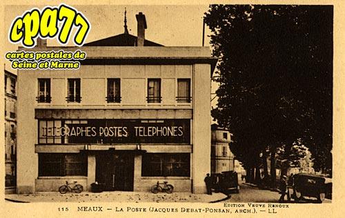 Meaux - La Poste